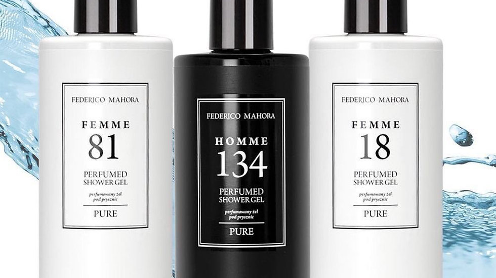 FM Fragrances Shower Gel (300ml)