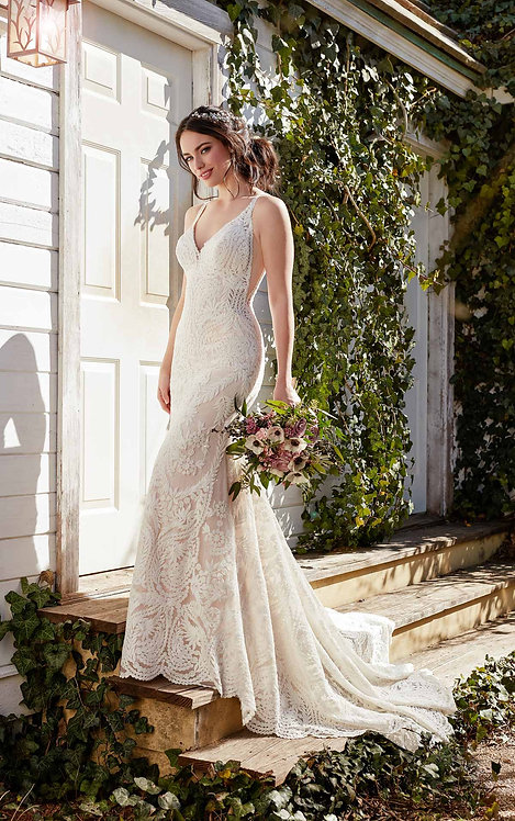 Fashion Boho Wedding Dress - Real Bride - Martina Liana