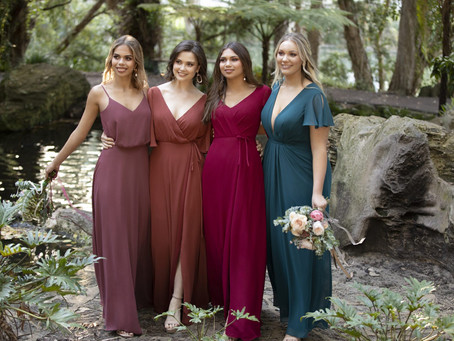 2021 Bridesmaids Colors and Trends