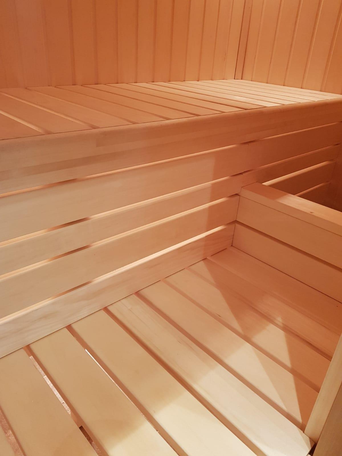 Bespoke Hand Built Sauna