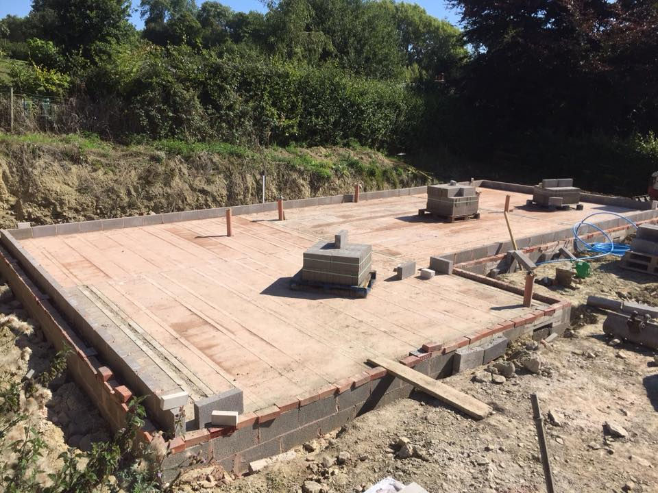 Ground floor slab