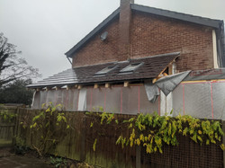 Lean-to Extension Roof