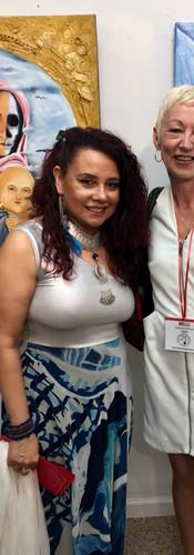Viviana Puello et moi