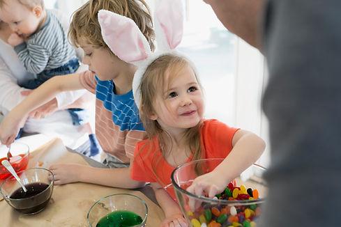 Las preparaciones de Pascua