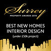 SPA 2019 Winner Best New Homes Interior