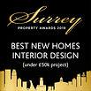 SPA 2019 Winner Best New Homes Interior