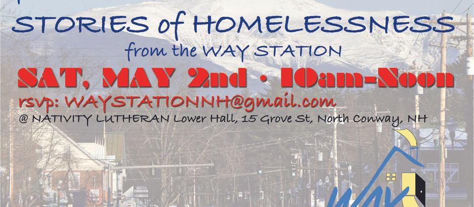 Rescheduled Brunch & Tour: Stories of Homelessness from the Way Station