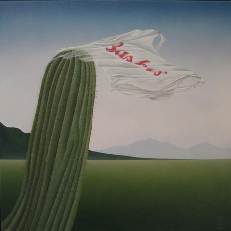 Saguaro in the Corner