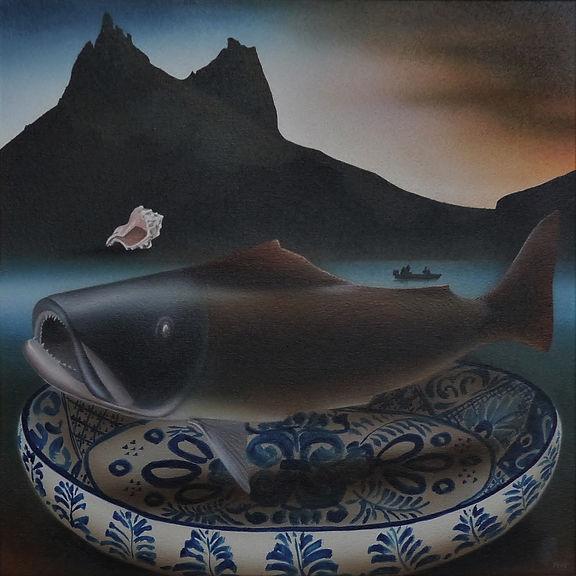 Shellfish & Wooden Fish