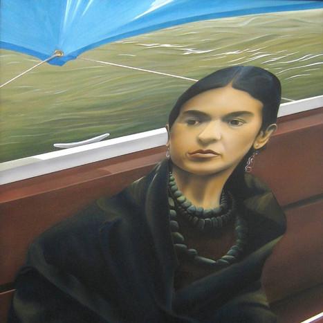 Frida at Lake Patzcuaro