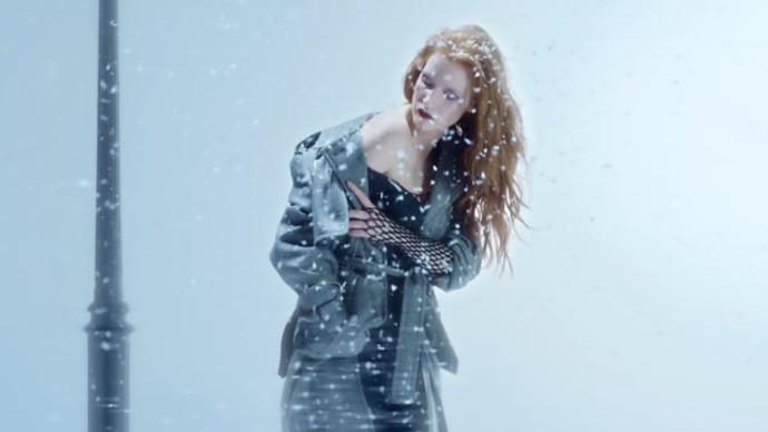 Vogue Ukraine - Jessica Chastain