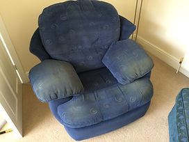 Chair clean by Crystal Clean, nothing we are unable to deal with, using the correct solutions and techiques