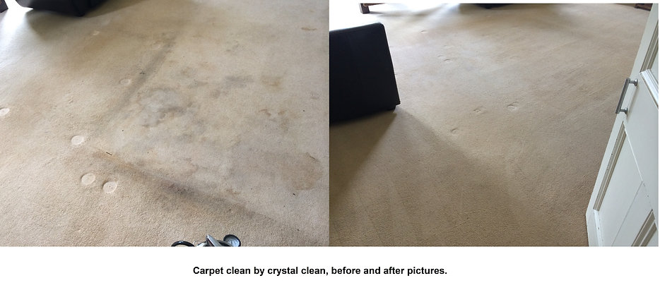 A couple of before and after photo's from the carpet clean today 12-08-14, beer, tea and coffee stains all successfully removed, customer very happy.