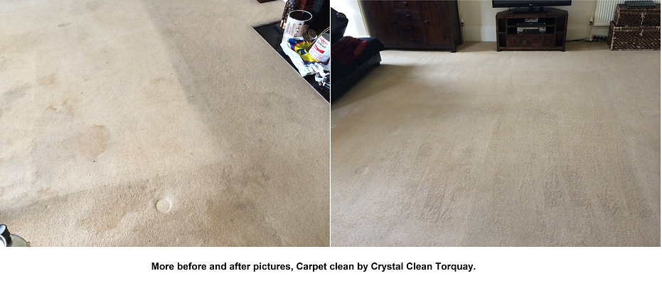 A couple of before and after photo's from the carpet clean today 12-08-14,  customer very happy.