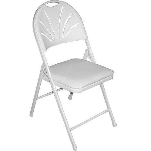 Scallop Plastic Chair (white)