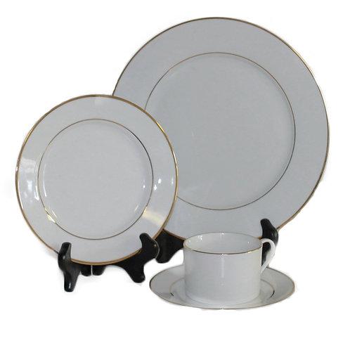 Platinum Banded Dinnerware