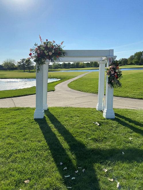 White 4-Piece Arch