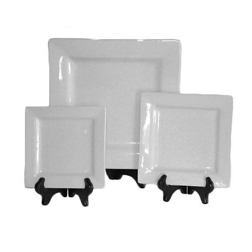 Square White Porcelain