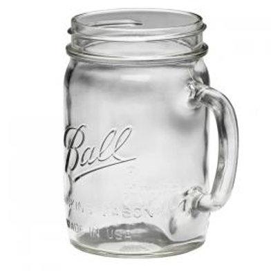Mason Jar Glass (16oz)