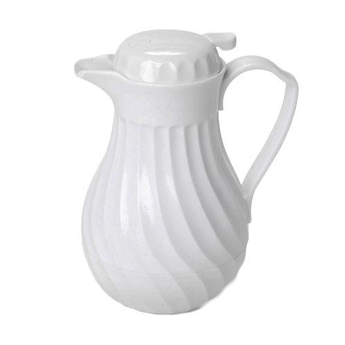 White Thermal Coffee Pot