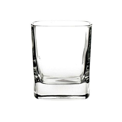 Square Tumbler Rocks Glass