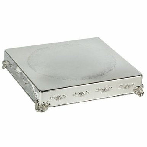 Cake Stand - Silver (18 in., square)