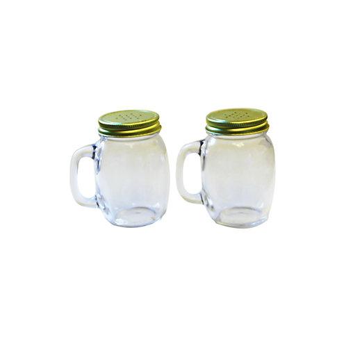 Salt and Pepper Mason Jars