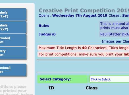 Creative Print Competition Open for Entries