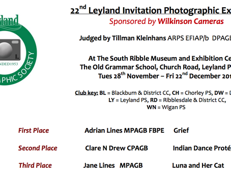 Leyland Photographic Exhibition Opening