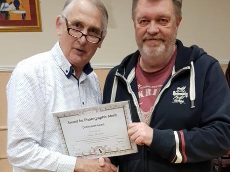 Steve Proctor receives DPAGB