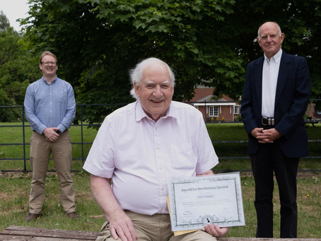National Honour for Noel Morgan APAGB