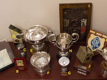 2018 Start of Year Trophy Cabinet