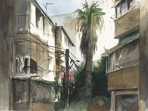 רחוב זמנהוף Zamenhoff street