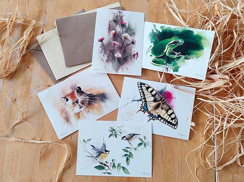 מארז הדפסים אביבי Spring Print Set