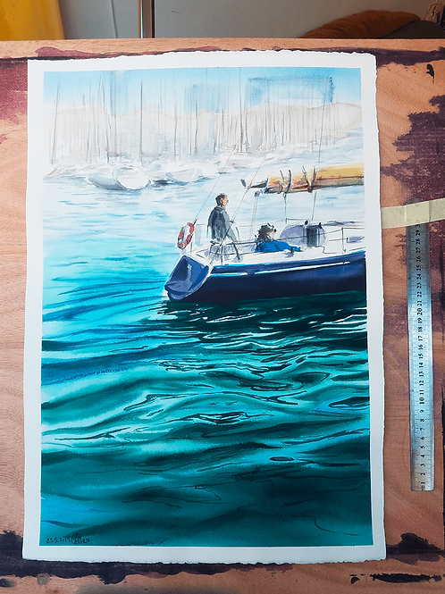 Sailing away מפליגים