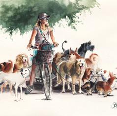 Tel Avivian Dog Walker