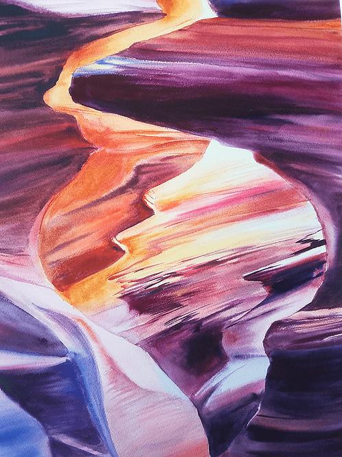 קניון אנטילופ Antelope Canyon