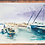 Thumbnail: ORIGINAL WATERCOLOR - Jaffa Port