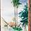 Thumbnail: ORIGINAL WATERCOLOR - Old Train Station Plein Air