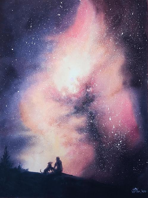 מבט לכוכבים Looking at the Stars