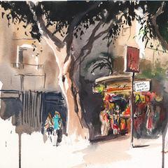 תמרה ברח' דיזנגוף Tamara Juice on Dizengoff street