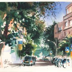 Masarik Square overlooking Mane Street