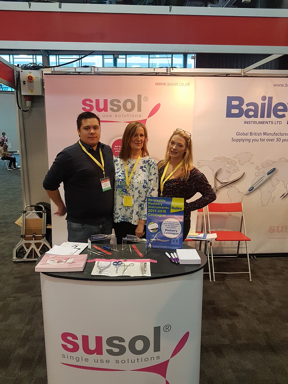 Networking at the society of chiropody and podiatry in Liverpool SOCAP