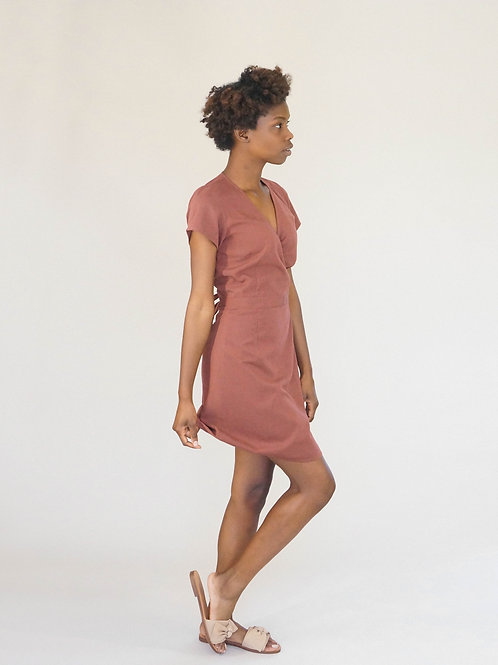 Stacie Dress in Earth