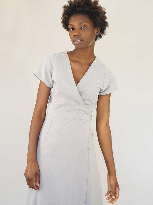 Sandy Dress in Ash