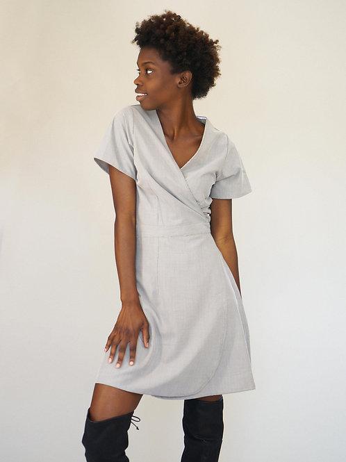 Stacie Dress in Ash