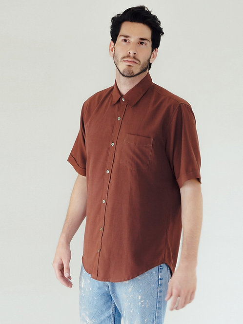 Bud Shirt in Earth