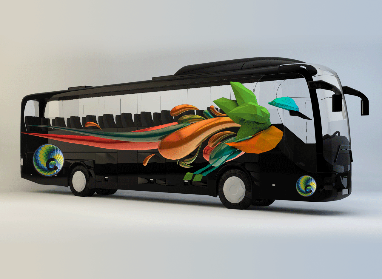 Vinilo Removible - Bus Laminado
