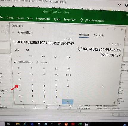 Calculadora de Windows 10 WhatsApp Image