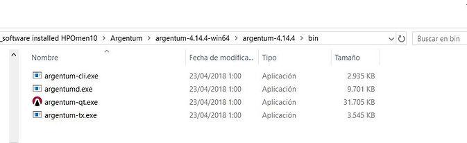 files in Argentum zip